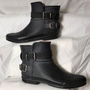BURBERRY.  39.  8-8.5 US.  Short rain boots.